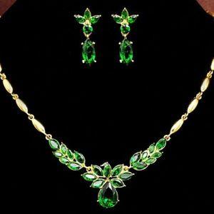 Jewelry - Flower Gemstone Ensemble